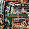 Британский солдат и афганский автобус by Mickeymars